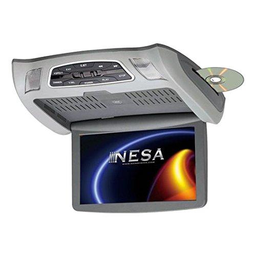 NESA NSC-101 10.1'' Ceiling Mount Monitor DVD Combo (3-Interchangeable Shrouds)