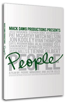 Ally Distribution Mack Dawg People Snowboard DVD