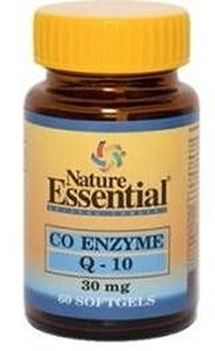 Co-Enzima Q10 30 perlas de 30 mg de Nature Essential: Amazon ...