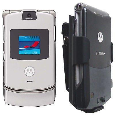 V3I V3R V3 V3X V3c V3M V3T Razor Holster Motorola Case Razr Phone cell Belt clip ()
