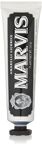 Marvis Amarelli Licorice Mint Toothpaste, 3.8 oz