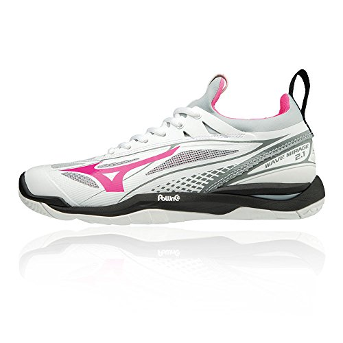 White Multicolour Top Wave Women's Black Sneakers Low Glo Mizuno 001 1 Mirage 2 Pink 58Yqdqzxw