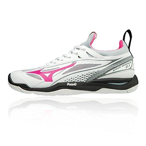 Glo Multicolore black Mirage 2 Basses Mizuno Wave pink Femme Sneakers 001 white 1 x40qzPwFB