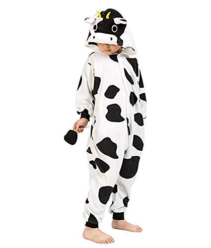 RECM Children Cow Cosplay Costumes Onesies Cosplay Homewear Pajamas 105