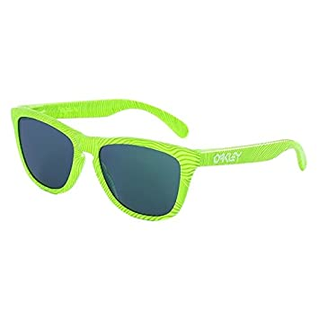 35fc6890d1 Oakley Fingerprint Collection Frogskins Retina Burn Sunglasses with Jade  Mirrored Lenses