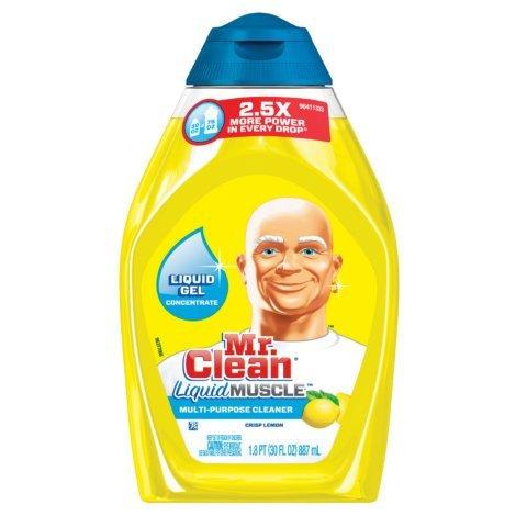 Mr. Clean Concentrated multi purpose cleaner, Crisp Lemon, 16oz (Pack of 2) -