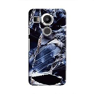 Cover It Up Rough Saphire Hard Case For Nexus 5X - Multi Color