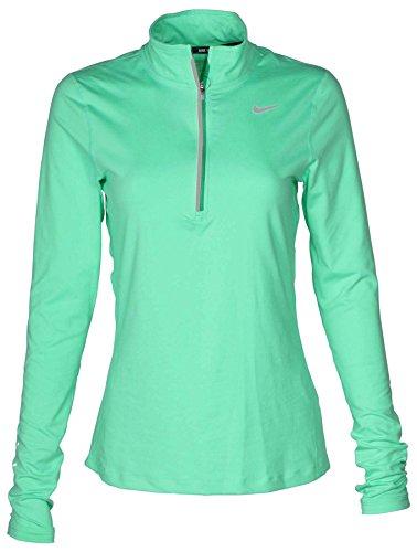 Women's Dry Element Running Top - Green Glow