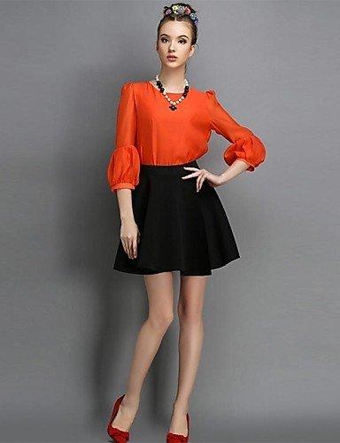 GSP-Damenmode einfarbig Blase Röcke (weitere Farben)