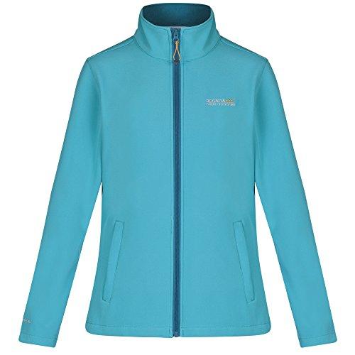 Regatta Womens/Ladies Connie III Warm Backed Full Zip Softshell Jacket