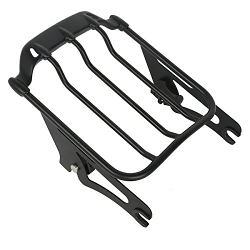 XMT-MOTO Black Air Wing Two Up Luggage Rack For Harley HD Touring Street Glide 2009-2018 by XMT-MOTO (Image #2)