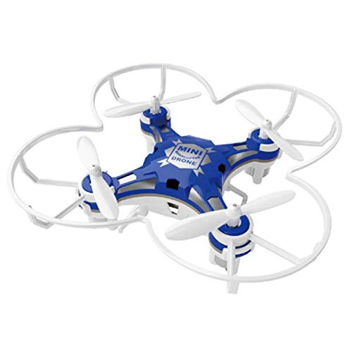 FQ777-124 Pocket Drone 4CH 6Axis Gyro Drone Quadcopter with Switchable Controller RTF - Blue