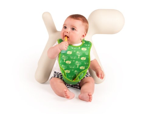 Bibetta Ultrabib Baby Bib (Green Owl) by BabyCenter (Image #9)