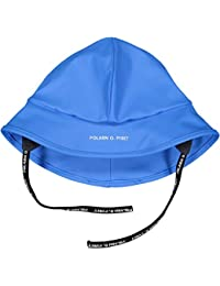 Polarn O. Pyret North Easter RAIN HAT (6-9YRS) - French Blue/6-9 Years