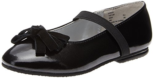 Toddler Girl's Jumping Jacks 'Piper' Flat Black 8 W