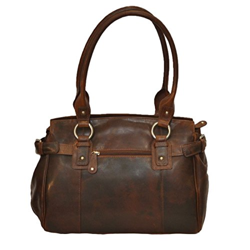 Canyon Outback Leather Rose Canyon Leather Handbag, Brown