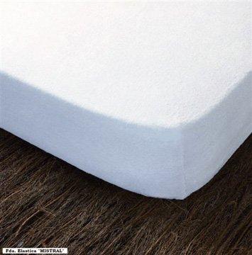 Funda protector colchon elástica rizo 100% algodón natural HOGAR24