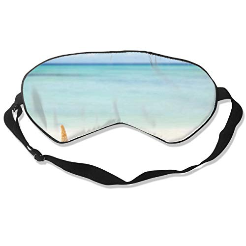 Eye Mask Summer Beach with Starfish Stylish Eyeshade Sleep Mask Soft for Sleeping Travel for Adults]()