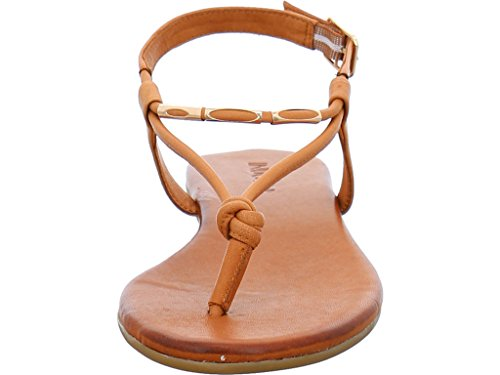 Inuovo AMSTERDAM, Sandalias de Vestir de Cuero Mujer marrón grisáceo