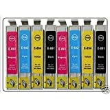 Premier Cartridges  8 (2 FULL SETS) EPSON COMPATIBLE INK CARTRIDGES FOR EPSON PHOTO STYLUS DX7400, DX7450, DX8400, DX8450, DX9400F, DX9450