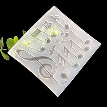 Molde de cristal epoxi hecho a mano en 3D, molde de silicona, moldes de