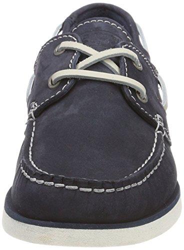Damen 70 Jeans Bootsschuhe active camel Blau Tropical zpxawA