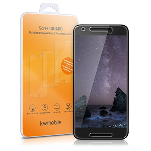 kwmobile Screen protector tempered crystal product image