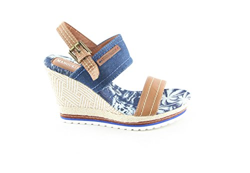 Sandals Fashion Women's Manoukian Blue Women's Manoukian Yq0Y8I