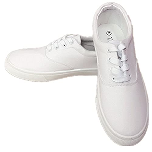 8defe0897deb well-wreapped Men Canvas Slip on & Lace Tennis Loafer School Shoes ...