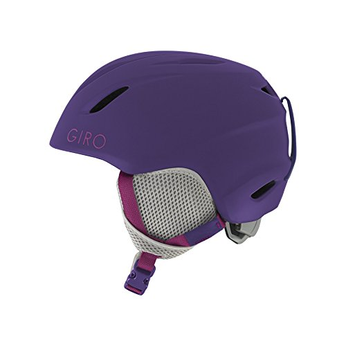 Giro Kids Snowboard (Giro Launch Kids Snow Helmet Matte Purple XS (48.5-52cm))