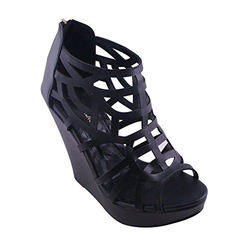 BLANCHO High Heel Sandal Womens BLACK FOki5PvS