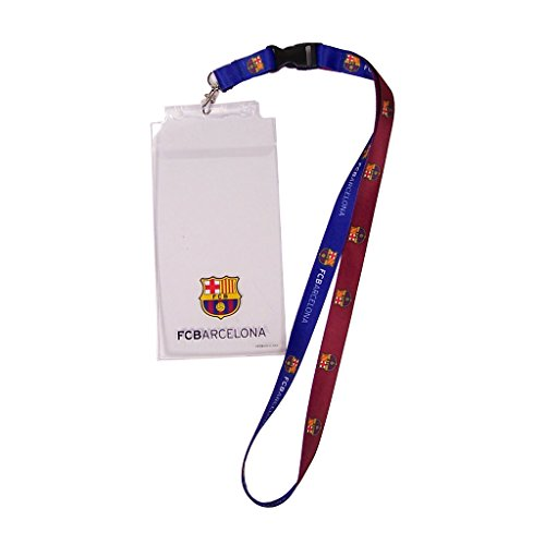 WinCraft Soccer FC Barcelona Credential Holder with - Lanyard Manchester United