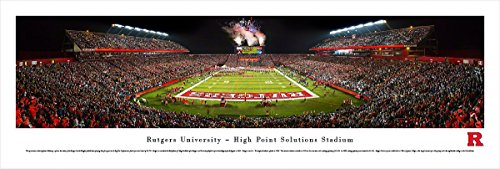 Rutgers Football  - Blakeway Panoramas Unframed College Sports Posters