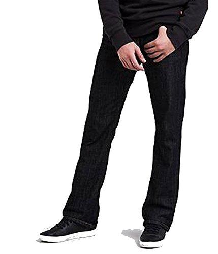 Levi's Men's 527 Low Rise Boot Cut Jean, Tumbled Rigid, 33X34