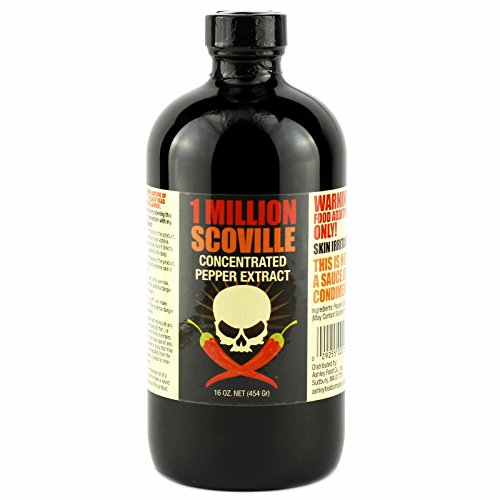 1 Million Scoville Pepper Extract 16 Oz Buy Online In
