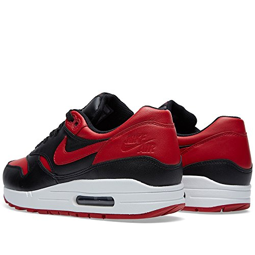 Nike Air Max 1 Bred Black / Red Trainer