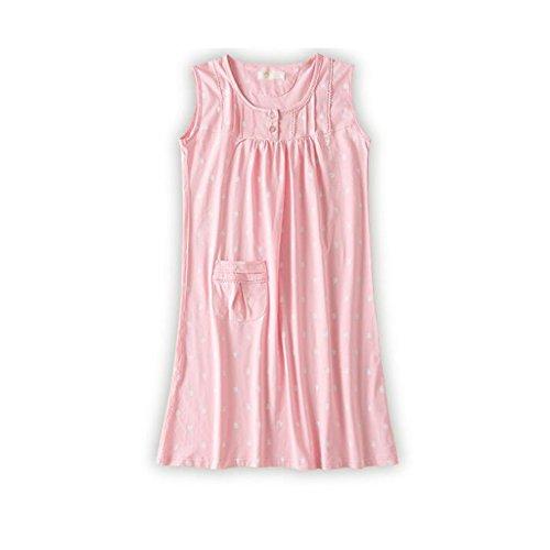 アラブ人スツール電気GAODUZI コットンナイトドレスレディースサマードレス半袖妊娠中の女性ゆるいパジャマサマーベストスニーカースカート
