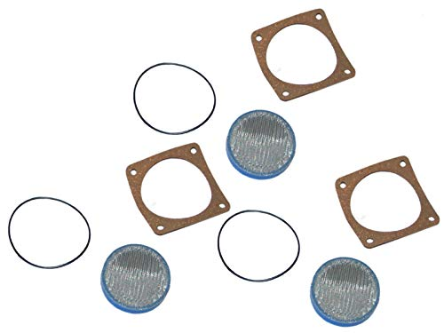 - 3 (Three) Pump Strainer Screens Replaces Riello 3005719 / SSC-126G Fits Mectron Series M3 M5 M10 M15 M20
