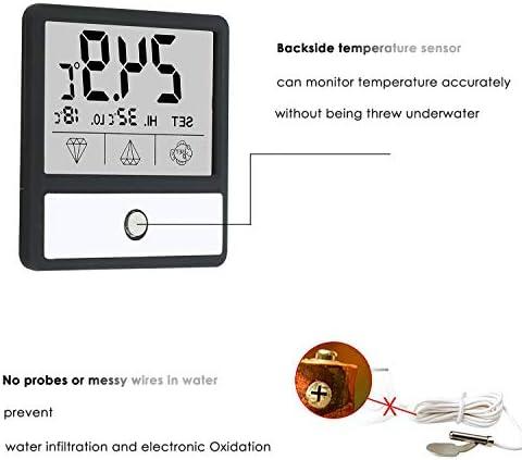 Mini Termómetro digital para acuario pantalla táctil 7