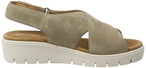 Clarks Women's Un Karely Hail Sling Back Sandals Green (Sage Nubuck) 2Q1LS