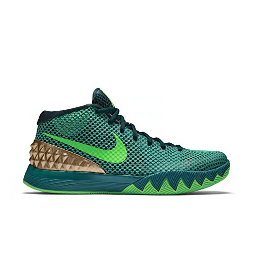 Modified Emerald - Nike Boys Kyrie 1 GS Basketball Sneakers, Teal/Green-Strk-Radiant Emerald, 6Y US