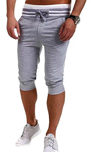 Cropped Capri Sweatpants - 7