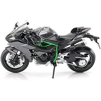 Amazon.com: Modelo de motocicleta Kawasaki Ninja H2R ...