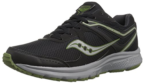 Saucony Men s Omni 16 Running Shoe, Grey Navy