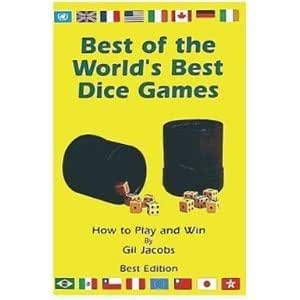 Best of the World's Best Dice Games Book Paperback-Probability Math