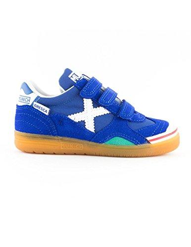 Munich Unisex-Kinder Gresca VCO Fitnessschuhe blau