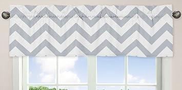 Amazoncom Sweet Jojo Designs Gray and White Chevron Collection