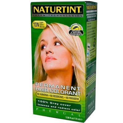 Permanent Hair Color - 10N, Light Dawn Blonde, 5.45 oz ( Pack of 3) by Naturtint