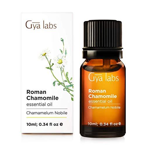 Roman Chamomile Essential Oil - 100% Pure Therapeutic Grade for Hair, Skin, Diffuser and Aromatherapy (10ml)
