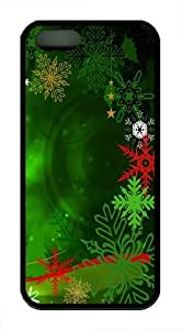 Colorful Christmas Decoration Custom iPhone 5s/5 Case Cover TPU Black Thanksgiving Day gift
